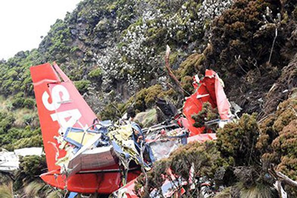 FlySax crash June2018