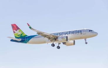Air Seychelles A320neo S7-VEV