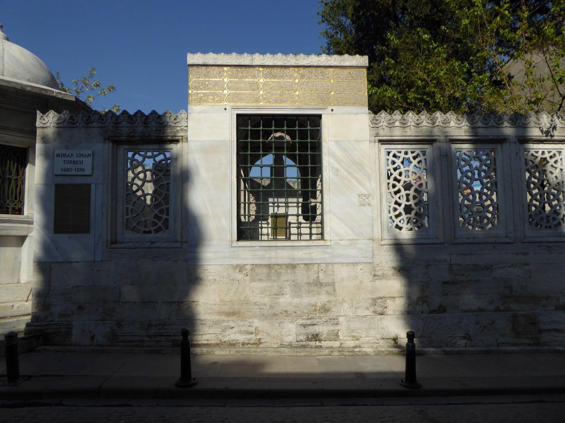 Stambuł Wspaniałe Stulecie: grób Sinana