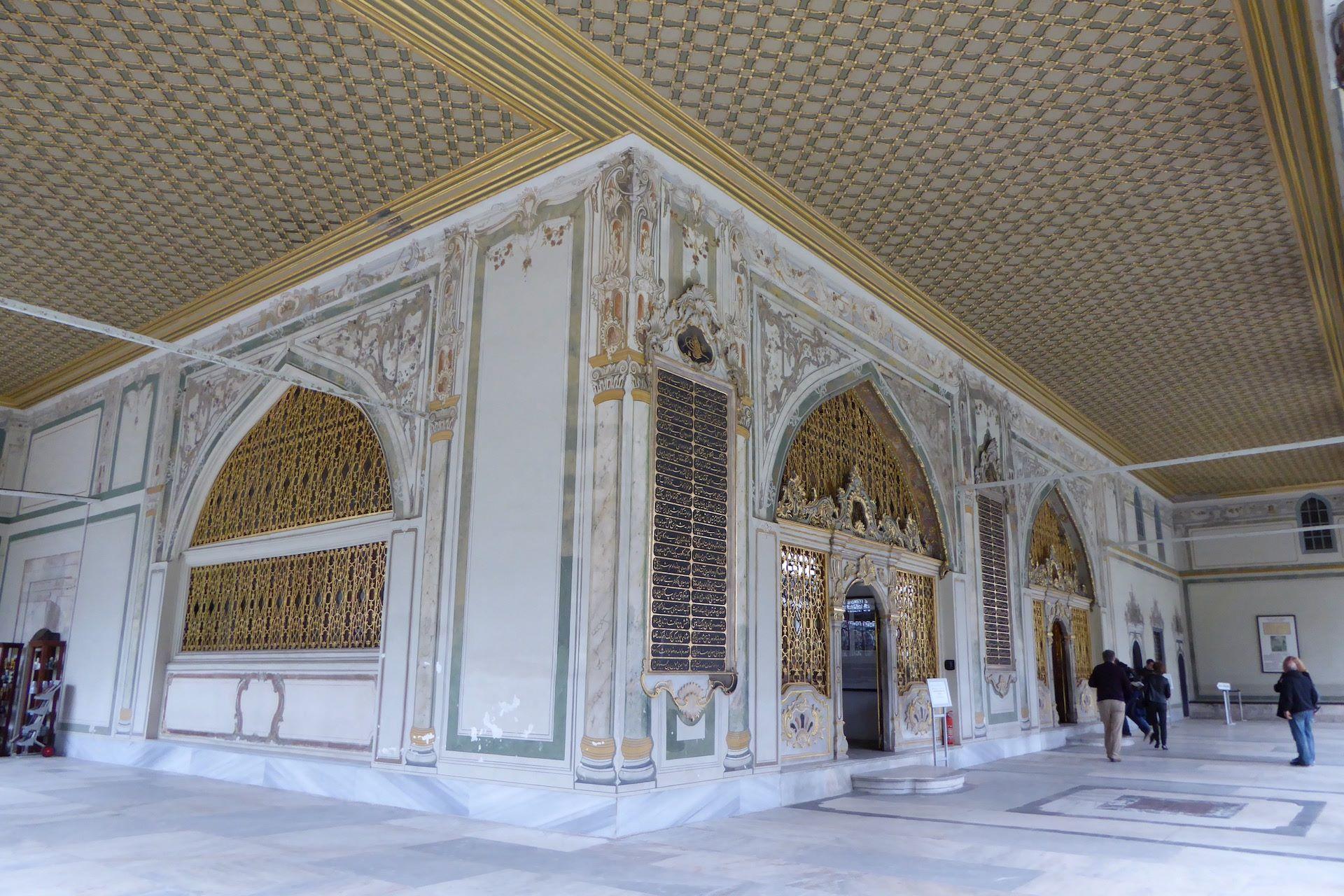 Pałac Topkapi, budynek posiedzeń Divanu
