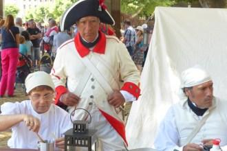 Santa Cruz recrea la batalla frente a Nelson