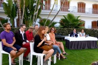 Presentación de promoción de Canarias con ilustradores.
