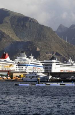 Puerto de Santa Cruz de Tenerife. Fotografía de la Autoridad Portuaria