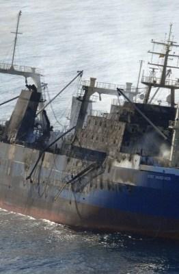 Fotografía de Salvamento Marítimo