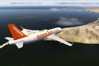 Fotografía de Easyjet cedida por el Cabildo