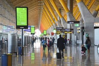 Terminal T4 del aeropuerto Adolfo Suárez Madrid-Barajas. Fotografía: AENA