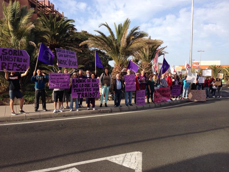 Protesta de San Bartolomé También Puede