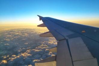 Avión en vuelo. Fotografía: ATCpress