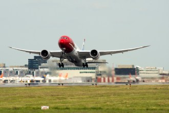 787 Dreamliner de Fly Norwegian. Fotografía: Norwegian