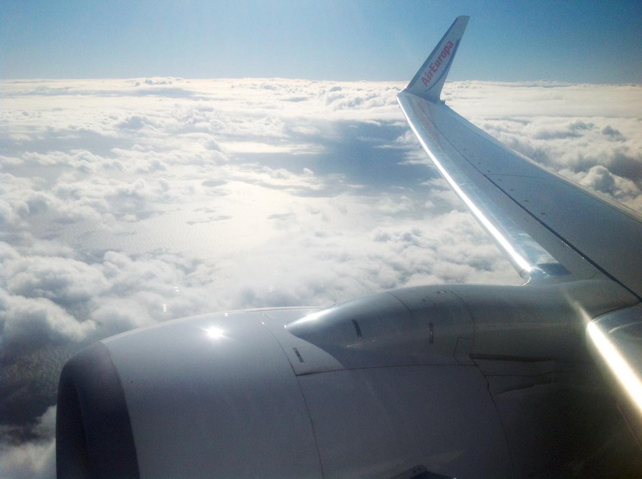Avión de Air Europa en vuelo. Fotografía: ATCpress