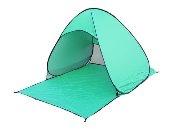 Pop-Up Beach Tent with UV 50+ Protection (Green)