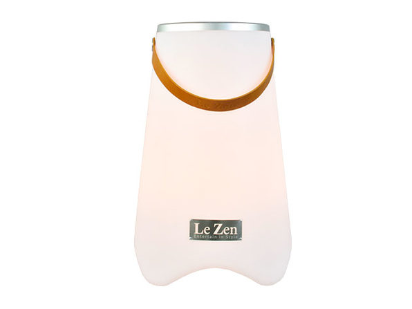 Le Zen: LED Wine Cooler & Bluetooth Speaker