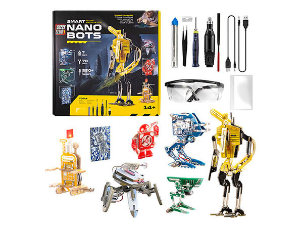 Smart Nano Bots PCB Construction Set + Toolkit