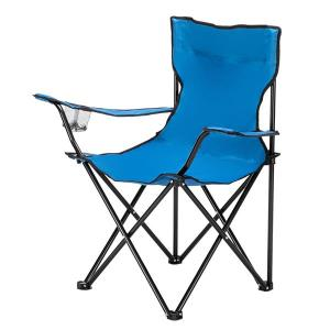 Small Camp Chair 80x50x50 Blue