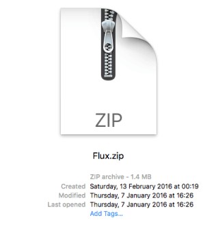 f.lux zip metadata