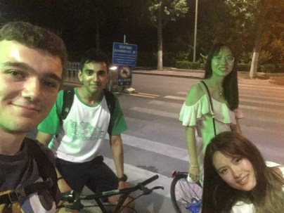 Late-night bike rides back to the dorms became a fixture of campus life
