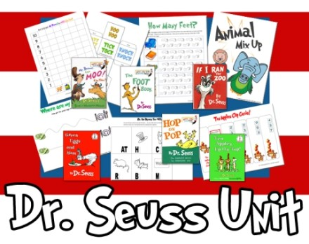 Dr. Seuss Printables