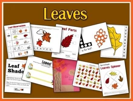 Leaves Printables