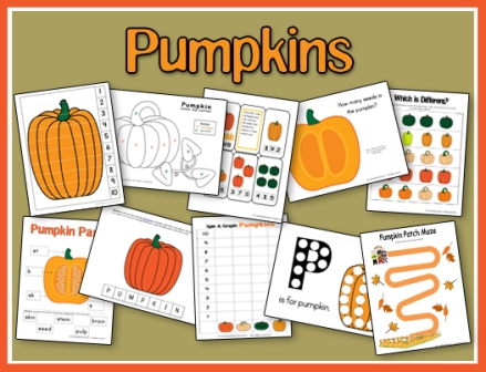 Pumpkin Printables