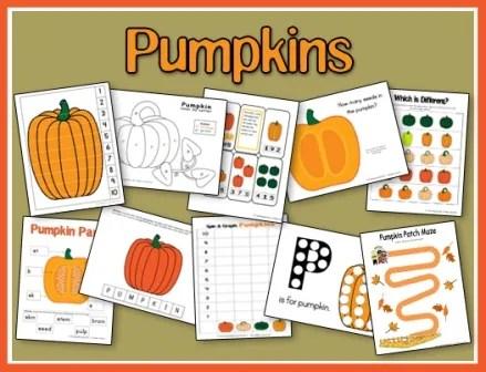 Pumpkin Printables