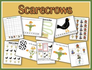 FREE Scarecrows Printables