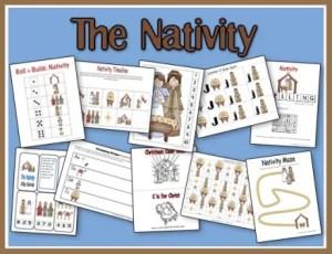 FREE Nativity Printables
