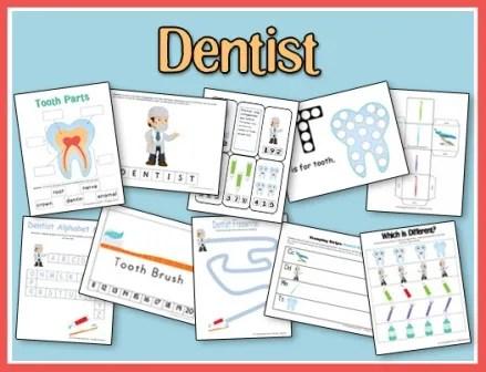 Dentist Printables