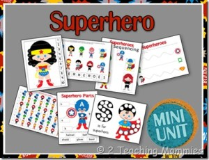 Superhero Mini Unit
