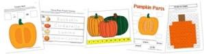 Pumpkin Kindergarten Extension Pack