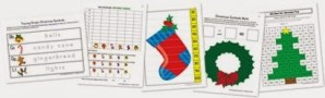 FREE Christmas Symbols Kindergarten Pack