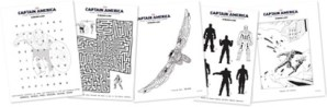 Captain America: The Winter Soldier FREE Printables