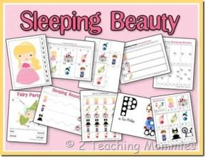 Sleeping Beauty Preschool Printables