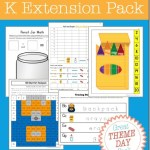 FREE Back to School Kindergarten Pack