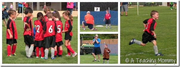 Rookie Soccer Collage