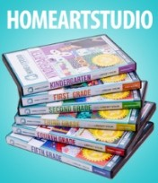 home art studio curriculum
