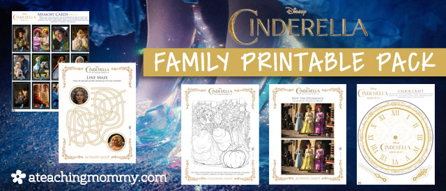 Free Disney Cinderella Activities