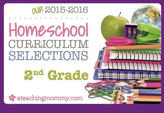 2015 2016 Curriculum Choices A Teaching Mommy
