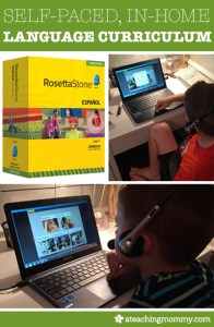 Self-Paced, In-Home Language Curriculum