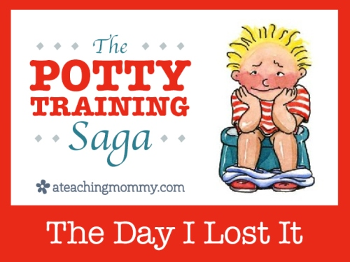 "Do you have any potty training ""horror"" stories? This is one of mine."