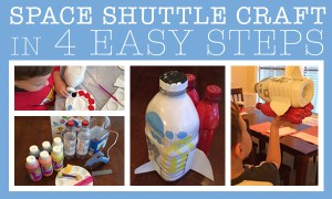 Create a Space Shuttle Craft in 4 Easy Steps