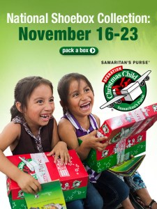 National Shoebox Collection Week