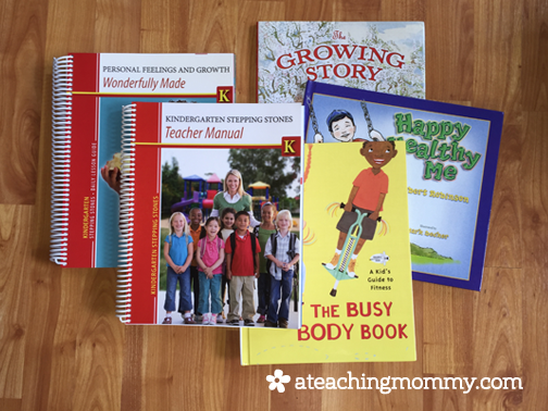 Kindergarten Stepping Stones is a great choice for the homeschool mom who wants a pick-up-and-go curriculum.
