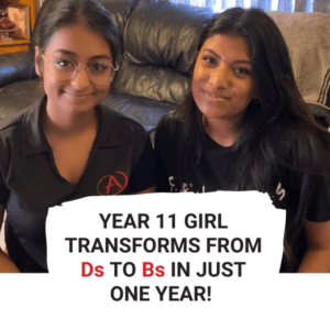 Year 11 Girl Transforms from D's to B's in Just One Year!