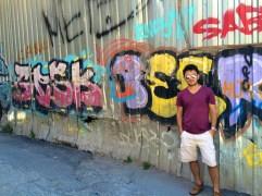 Graffiti in Galata.