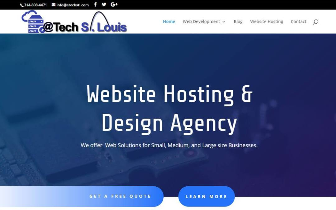AtechDesign Affordable Website Design Atech SEO Hosting