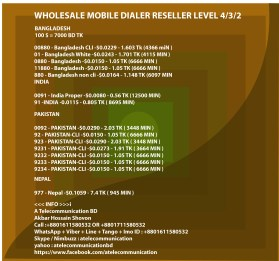 wholesale mobile dialer