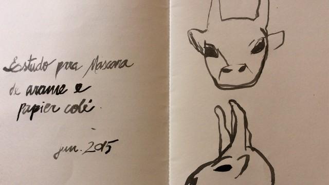 projeto da máscara de touro