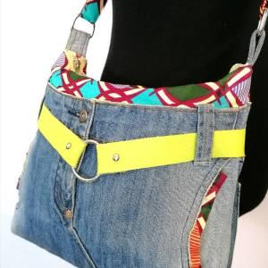 Sac en jeans recyclé