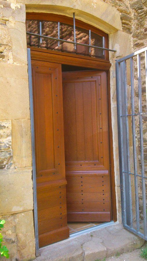 Portes Du0027entrée Sur Mesure