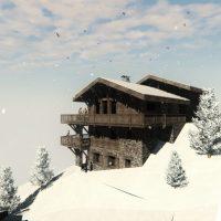 Construction de 2 chalets individuels en montagne à Courchevel la Tania